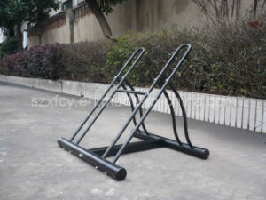 Portable Home Bike Storage Rack for 2 Bikes pictures & photos