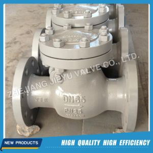 Pn25 Dn150 Swing Check Valve with Carbon Steel Material pictures & photos