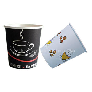 Flexo Printing 6oz Popular Coffee Cups pictures & photos