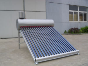 Energy Saving Low Pressure Solar Water Heater pictures & photos