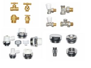 Brass Fordge Radiator Valve (a. 7021) pictures & photos