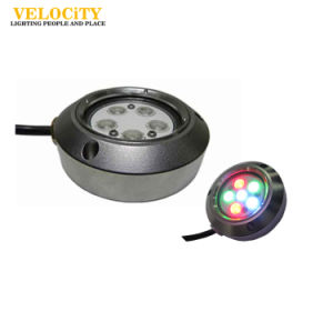24V High Brightness 316 Stainless Steel RGB Marine LED Boat Light pictures & photos
