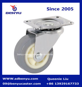 Small Caster Wheel with Side Mount Lock pictures & photos