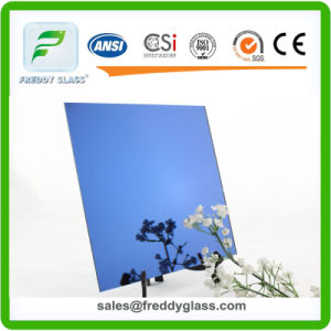 2-6mm Dark Blue Silver Decorative Mirror for Dressing pictures & photos
