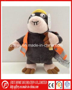 Plush Cartoon Mascot Toy for Promotion Adivsing pictures & photos