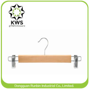 Rb-Wp632 Antique Wooden Clothes Hanger for Men, Wooden Pants Hanger