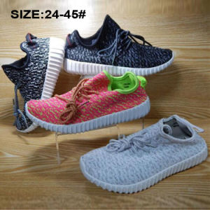 Classic Cheap Unisex Injection Breathable Flyknit Casual Sports Shoes pictures & photos