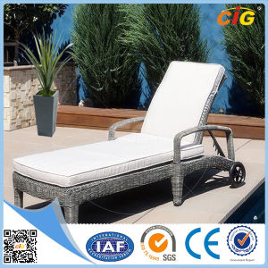 Outdoor Gray Rattan Wicker Furniture Sofa Set pictures & photos