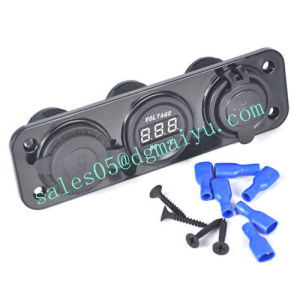 Cigarette Lighter Socket Splitter 12V Dual Car USB Charger Power Adapter Outlet pictures & photos