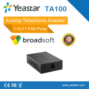 1 FXS SIP ATA Analog Telephone Adapter pictures & photos