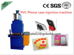 Liquid PVC/Rubber Phone Holder Injection Machine pictures & photos