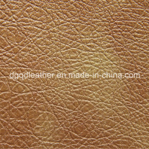 Artificial Leather Good Seam Strength PU Leather (QDL-50253) pictures & photos