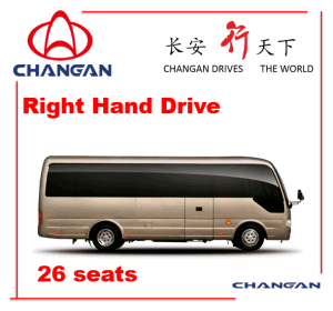 Coaster Model Sc6728 Changan Brand Bus pictures & photos
