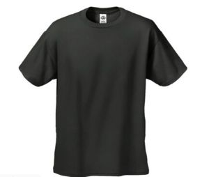 Hot Sale Short Sleeve Round Neck T-Shirt with Different Colors pictures & photos