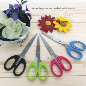 Hot Sale Stainless Steel office Scissor With Plastic Handle pictures & photos