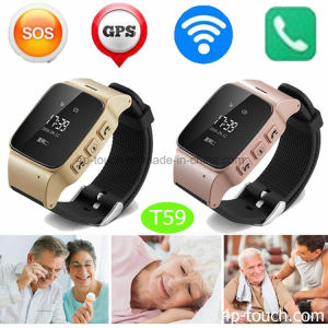 Anti-Dropoff Smart GPS Tracker Watch with Sos and Geo-Fence T59 pictures & photos