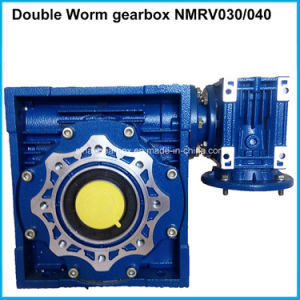 Double Speed Reducer Two Worm Gearbox pictures & photos