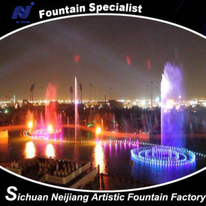 Fire Fountain, Large Scale Complex Fountain Project