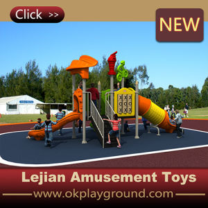 Small Size Plastic Children Outdoor Playground Equipment Slide (X1508-6) pictures & photos