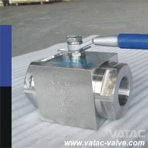 Forged Steel High Pressure Hydraulic Pressure Ball Valve for Oil pictures & photos