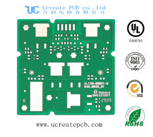 Aluminum PCB for LED with 2oz pictures & photos