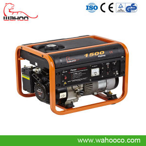 1kw1.5kw Portable Power Gasoline Generator, Home Generator with CE (WK1500) pictures & photos