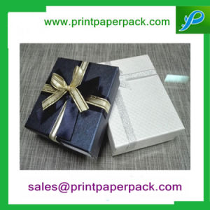 Custom Paper Cardboard Square Ring Earring Jewelry Gift Boxes pictures & photos