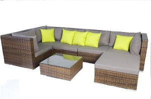 Brown Rattan Outdoor Garden Lounge Sofa Set pictures & photos