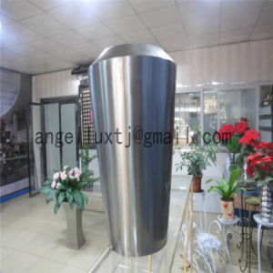 Hotel Lobby Corridor Door Stainless Steel Flower Stand Metal Flowerpot pictures & photos