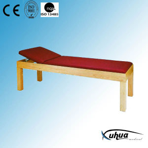 Wooden Hospital Medical Examination Bed (I-4) pictures & photos