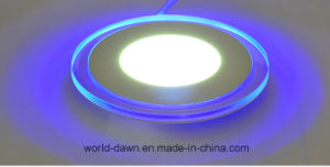 2016 Hot Selling Blue Edge 2 Colours LED Panel Light pictures & photos