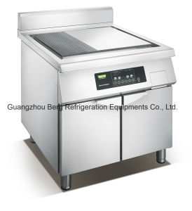 Ce Professional Electric Upright Commercial Induction Deep Griddle for Restaurant pictures & photos
