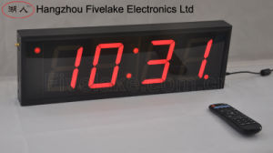 """4"""" 4 Digit LED Digital Wall Clock (FDC-404) pictures & photos"""