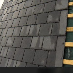 Natural Black/Grey Roof Slate Tile for Roofing pictures & photos
