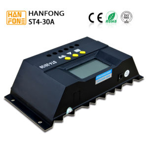 Solar Energy 12V 24V 10A 20A 30A PWM Intelligent Solar Controller for Solar System (ST4-30) pictures & photos