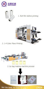 Fully Automatic Plastic Hand Bag Making Machine (one machine four functions) pictures & photos