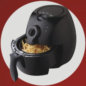 CE Certified 2.2L Oil Free Teflon Basket Rapid Air Fryer pictures & photos