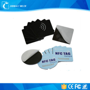 Hot Sale Hf 13.56MHz Printed NFC Anti Metal NFC Tag pictures & photos