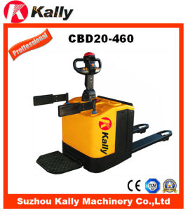 Two Ton Capacity Electric Pallet Truck with Free Maintenance (CBD20-460) pictures & photos