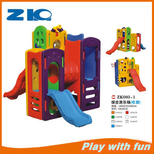 Indoor and Outdoor Playground with Kids Slide pictures & photos