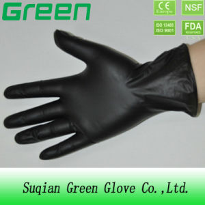 Black Vinyl Glove pictures & photos