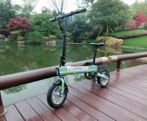 300W Foldable Mini City Electric Bicycle with Lithium Battery pictures & photos