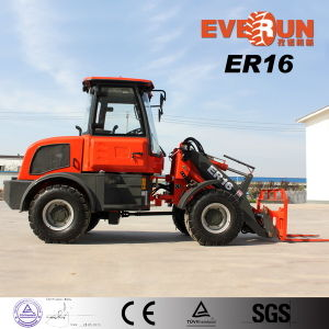 Qingdao Er16 Wheel Loader with Electric Joystick/Quick Hitch for Sale pictures & photos