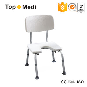 Topmedi Bathroom Safety Aluminum U Shape Shower Chair pictures & photos