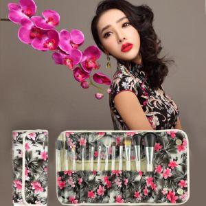 Hot Sale Explosion Models 12 Pieces Fiber Hair Brush Makeup Brush
