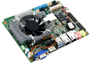 New Heatsink Embedded Industrial Motherboard Hm67 with 3G/WiFi/COM/USB pictures & photos