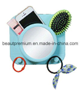 Silicone Suction Holder - Camera Shape with PC Anti-Fog Mirror Hook BPS017 pictures & photos