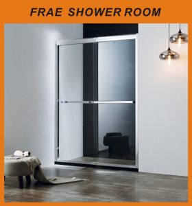 Aluminum Alloy Frame Bathroom Shower / Shower Cabin Double Sliding Shower Cubicle Glass Shower Room pictures & photos