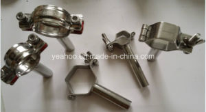 Sanitary Stainless Steel Clamp Pipe Holder & Hexagon Tube Hanger