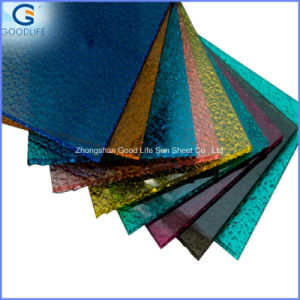 Decorative Building Materials Embossed Polycarbonate Sheet pictures & photos